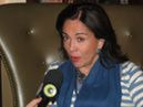 National President of the PMDB Women in Brazil, Maria Elvira, is interviewed by Vejatv.com