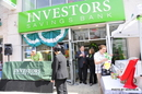 Inauguração do  Investor Saving Bank de Newark