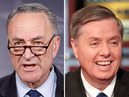 Senators Schumer and Graham Meet to  Push for Amnesty