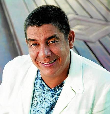 Singer Zeca Pagodinho sings at the Big Apple