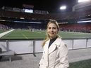 Cinthia Martins Redbulls New York realiza ultimo jogo no Giants Stadium