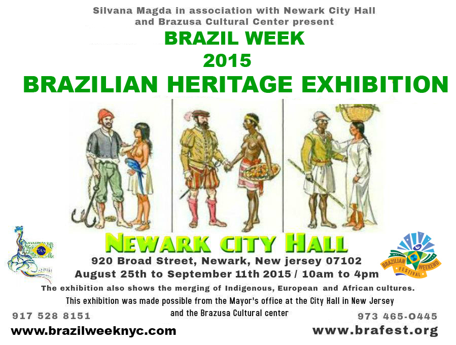 Brazilian Heritage Exhibition At Newark City Hall