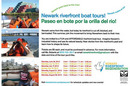 City of Newark announces 2010 Passaic Riverfront boat Tours