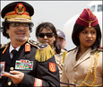 QADDAFI:  NO FLIES ON COL. CRAZY