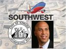 Mayor Booker welcomes Southwest Airlines to the city of Newark